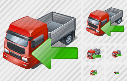 Truck2 Import Icon