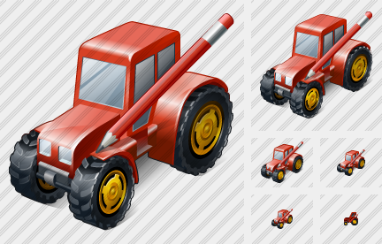 Wheeled Tractor Edit Icon