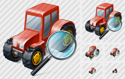 Wheeled Tractor Search 2 Symbol