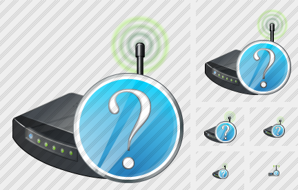 Wi Fi Spot Question Icon