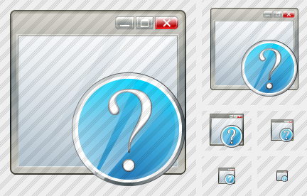 Window Question Icon