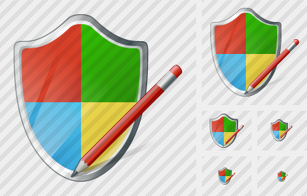 Windows Security Edit Icon
