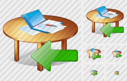 Work Table Import Icon