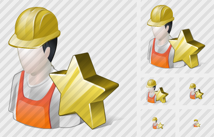 Worker Favorite Icon