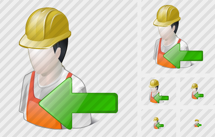 Worker Import Icon