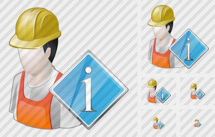 Worker Info Icon