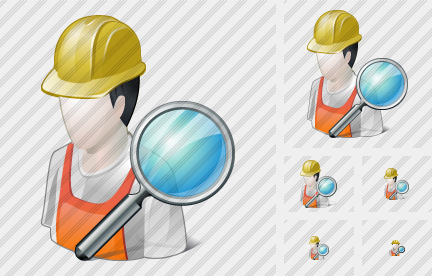 Worker Search Icon