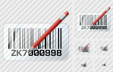 Bar Code Edit Icon