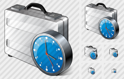 Case Clock Icon