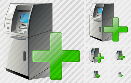 Cash Dispense Add Icon