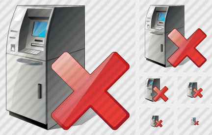 Cash Dispense Delete Icon