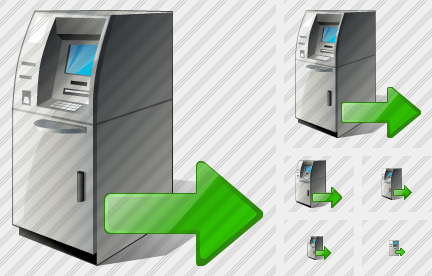 Cash Dispense Export Icon