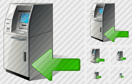 Cash Dispense Import Icon