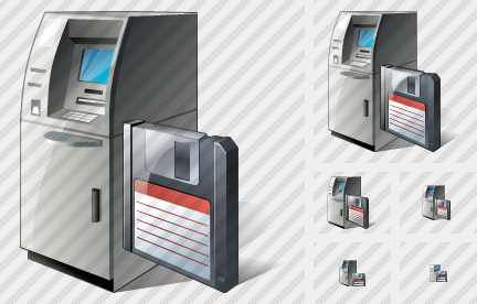 Cash Dispense Save Icon