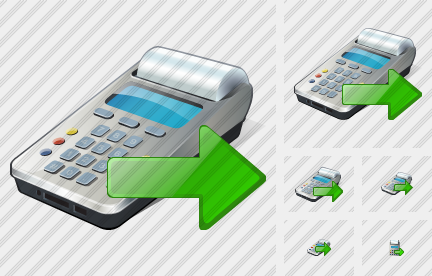 Cash Register Export Icon