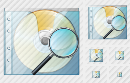 CD Box Search 2 Icon