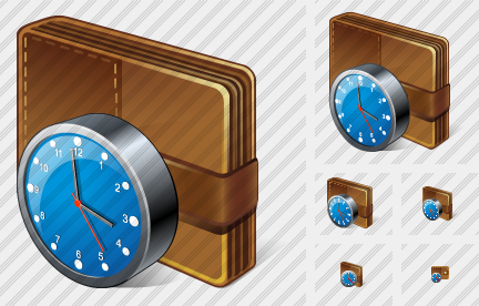 Change Purse Clock Icon