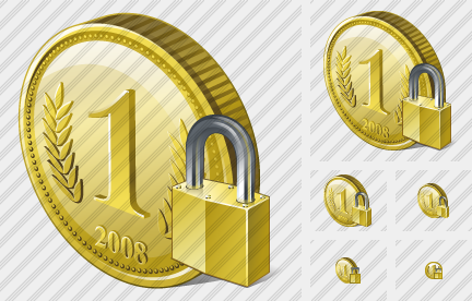 Coin Locked Icon