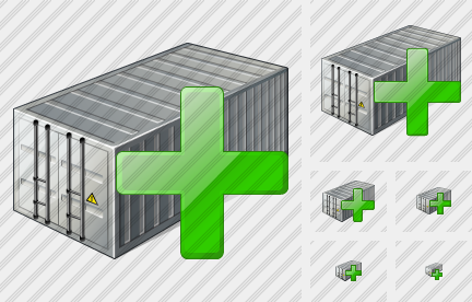 Container Add Icon