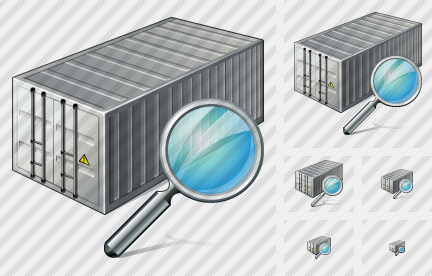 Icône Container Search