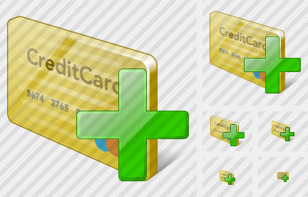 Credit Card Add Icon