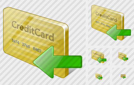 Credit Card Import Icon