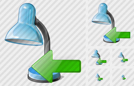 Desk Lamp Import Icon