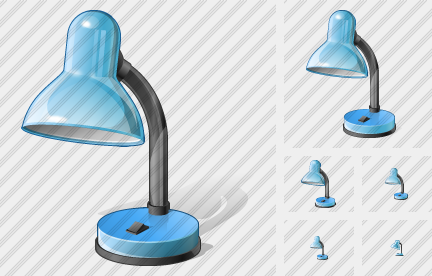 Desk Lamp Icon