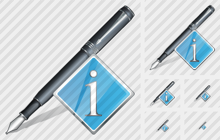 Feather Pen Info Icon