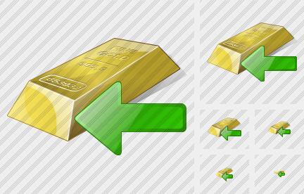 Gold Import Icon