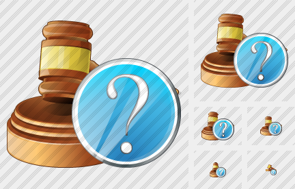 Hammer Question Icon