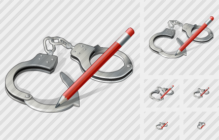 Handcuffs Edit Icon