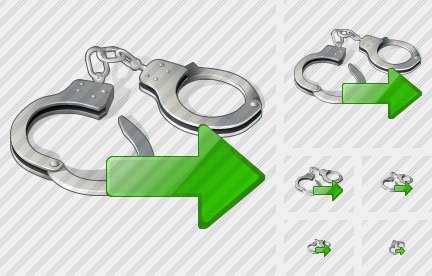 Handcuffs Export Icon
