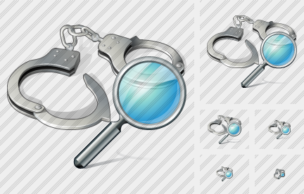 Icône Handcuffs Search
