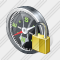 Compass Locked Icon