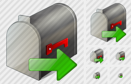 Mail Box Export Icon