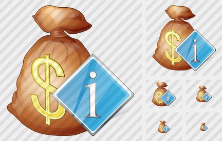 Money Bag Info Symbol