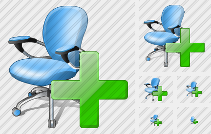 Office Chair Add Symbol
