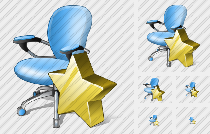 Office Chair Favorite Icon