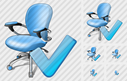 Office Chair Ok Symbol
