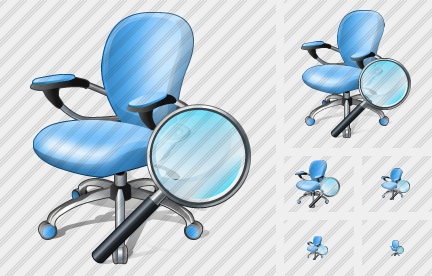 Office Chair Search 2 Symbol