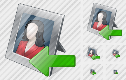 Photo Frame Import Icon