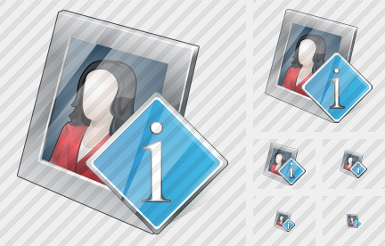 Photo Frame Info Icon