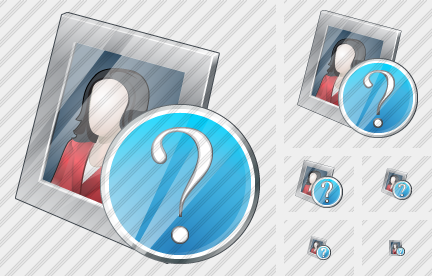 Photo Frame Question Icon