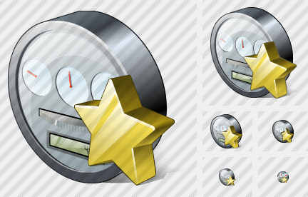 Icône Power Meter Favorite