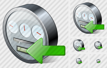 Power Meter Import Icon