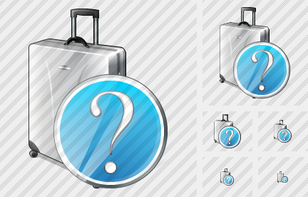 Road Bag Question Icon