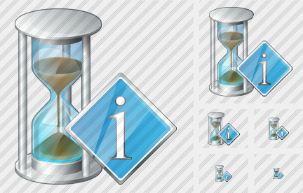 Sand Glass Info Icon