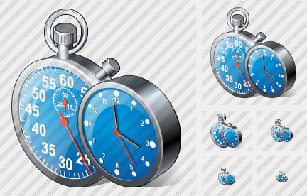 Stop Watch Clock Icon