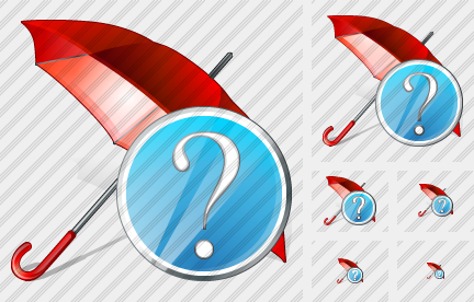 Umbrella Question Icon